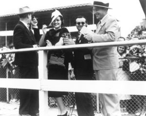 Bing Crosby and Dorothy Lamour at the Del Mar Racetrack